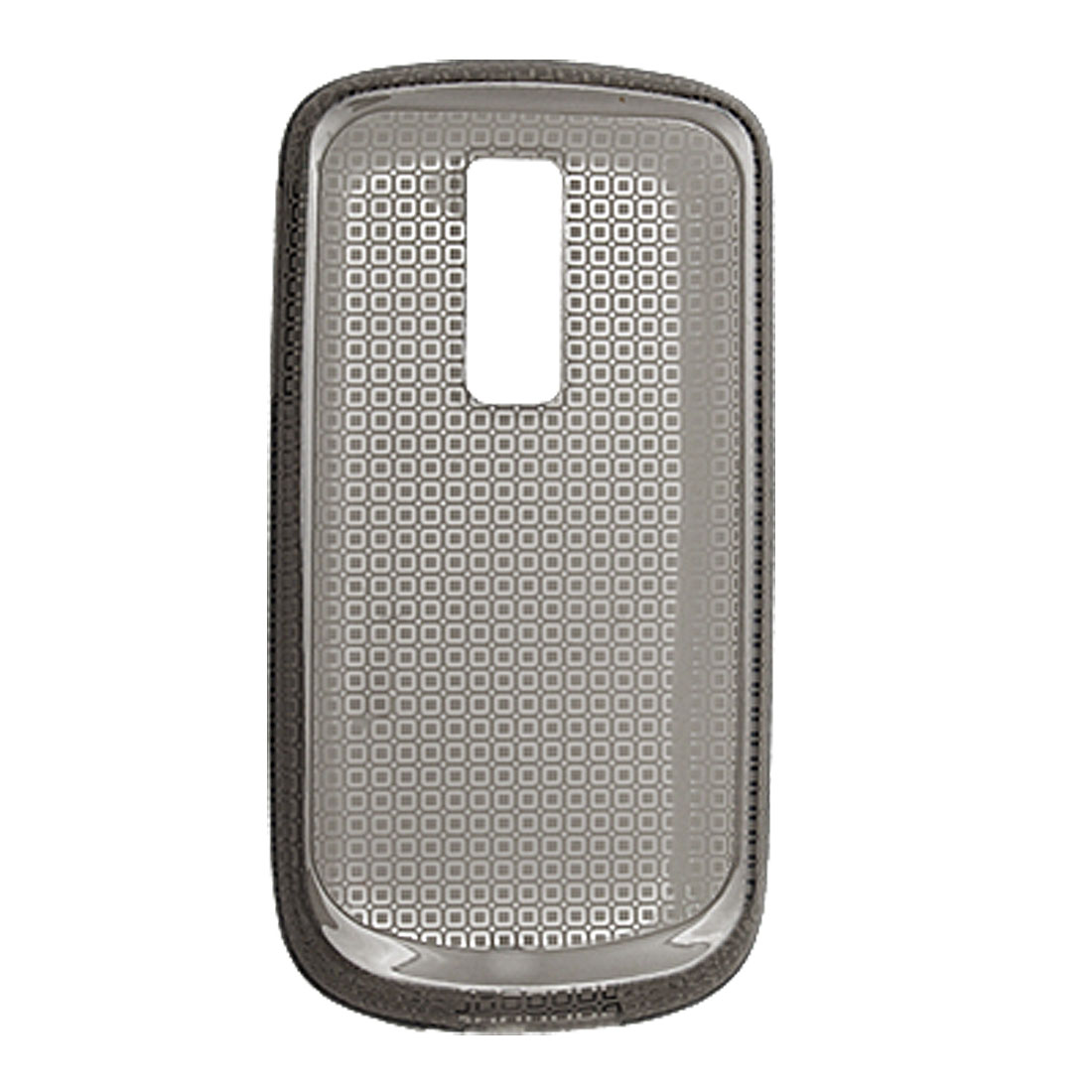 Grey Protective Back Cover Soft Plastic Shield for HTC G2