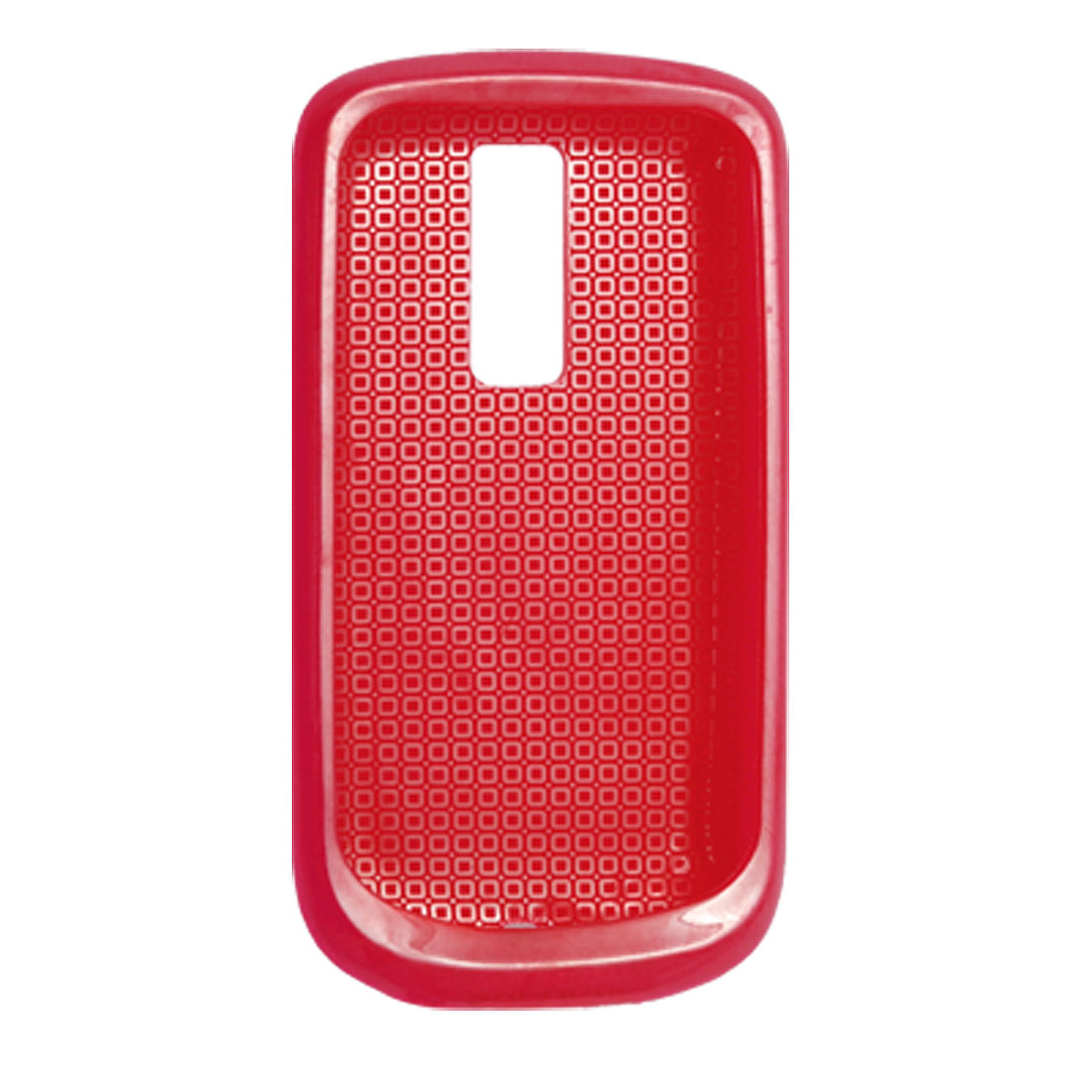 Red Soft Plastic Protecter Cover Case for HTC G2