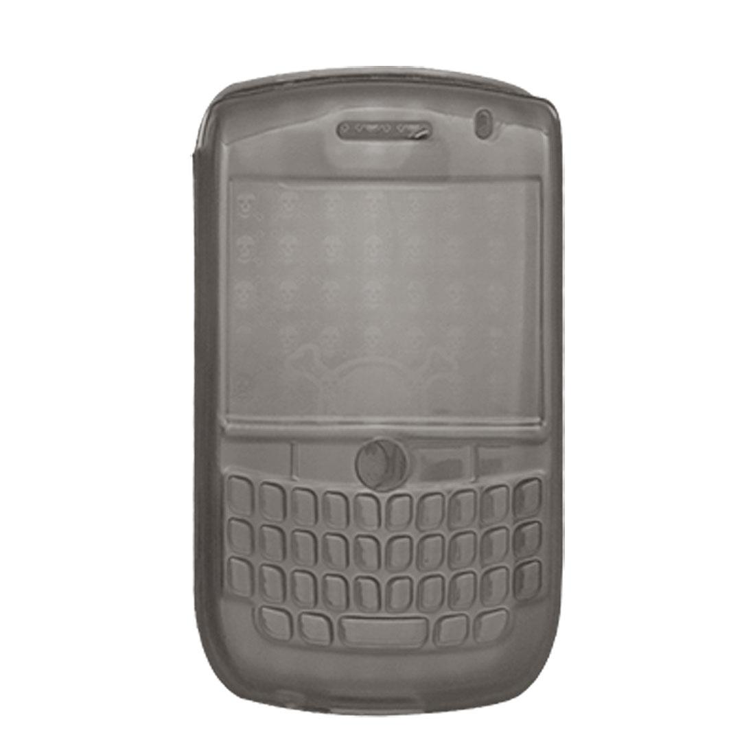 Gray Soft Plastic Case Cover Shell for Blackberry 8900