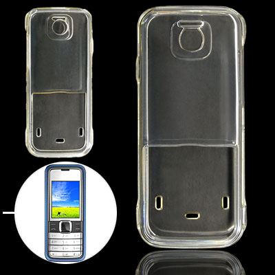 Clear Hard Plastic Case Crystal Cover Shell for Nokia 7310
