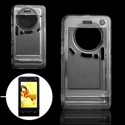 Clear Plastic Hard Phone Cover Case for LG KU990