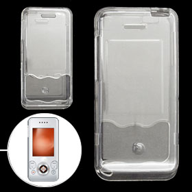 Hard Case Clear Plastic Cover Shell for Sony Ericsson W580
