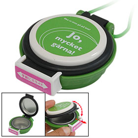 Neck String Portable Mini Cigarette Ashtray Holder