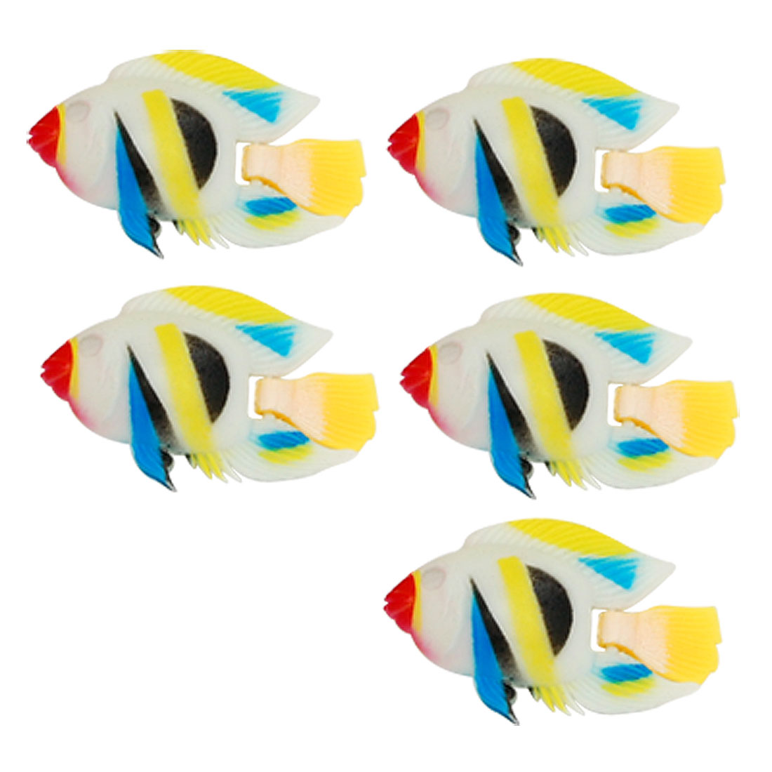 Real-like Colorful Plastic Fish Aquarium Tank Decor