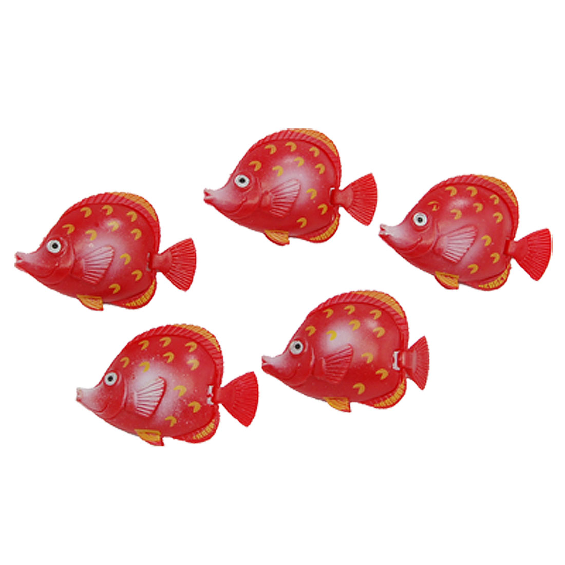Real-like Red Plastic Floating Fish Aquarium Tank Ornament