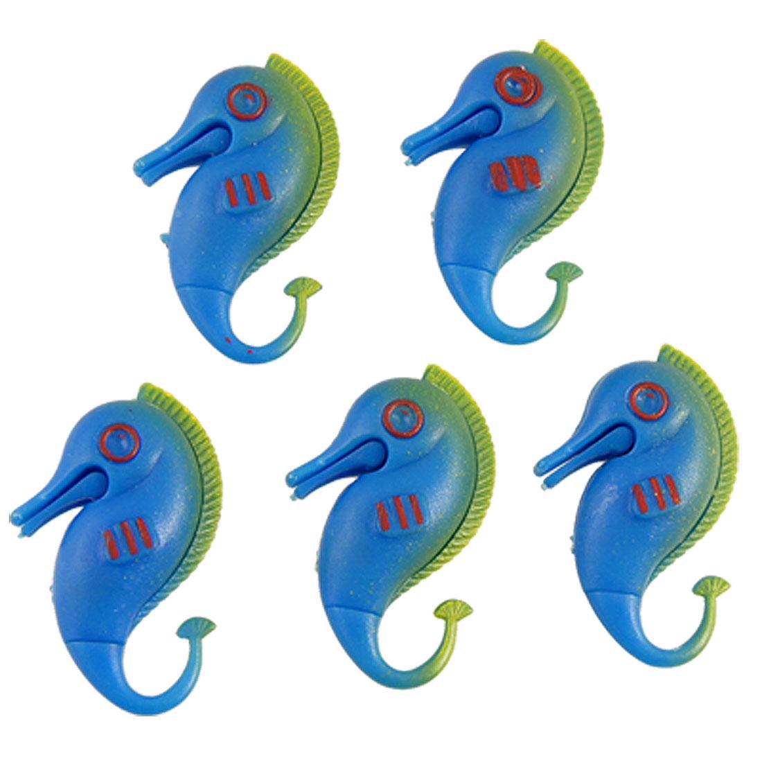 Plastic Hippocampi Fish Tank Ornament Aquarium Decor