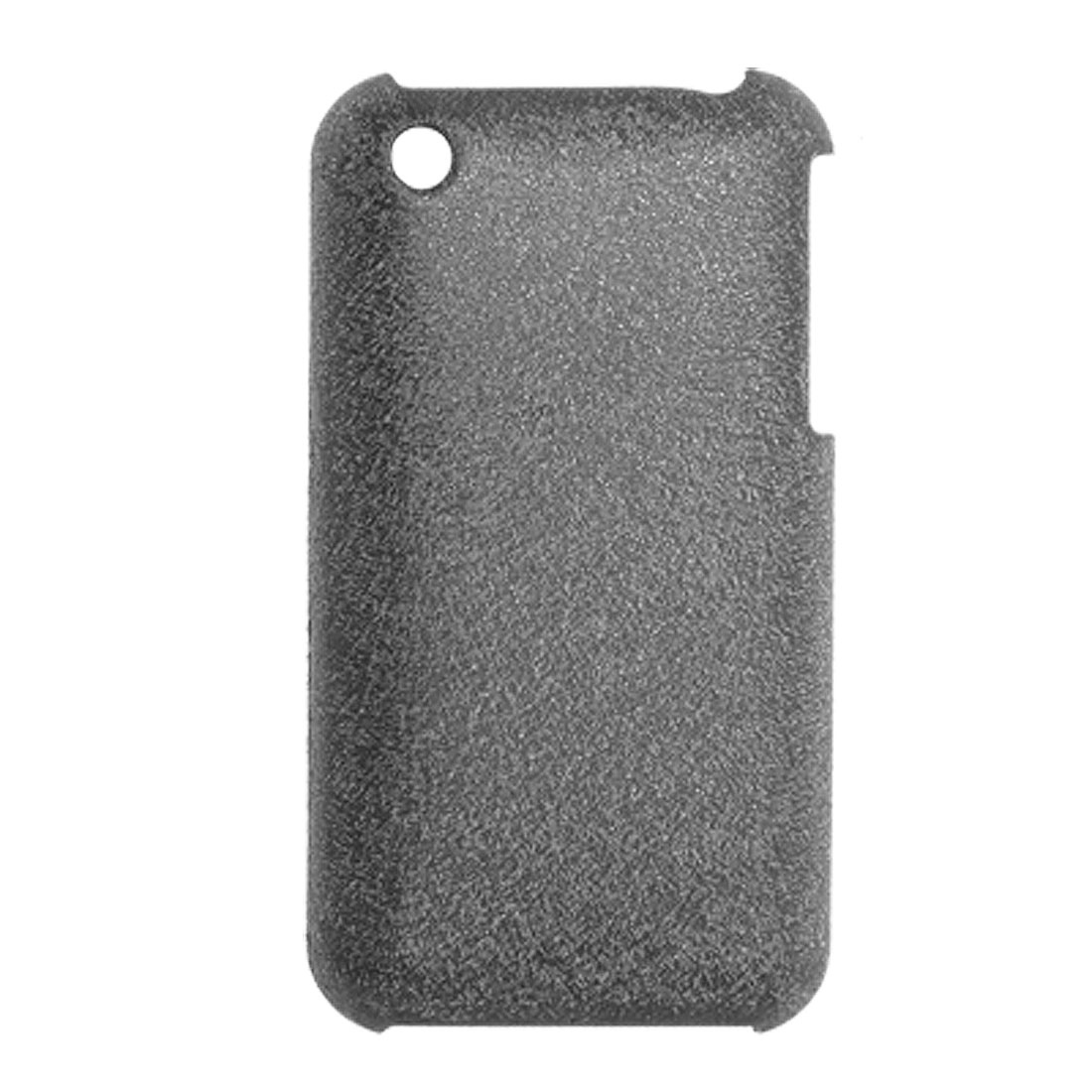 Grey Plastic Back Case Cover Protector for iPhone 3G