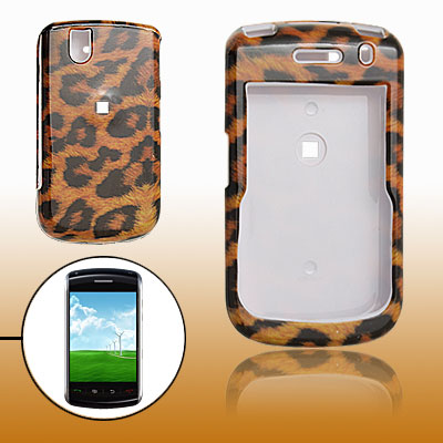 Leopard Pattern Hard Plastic Case Cover for Blackberry BB9530