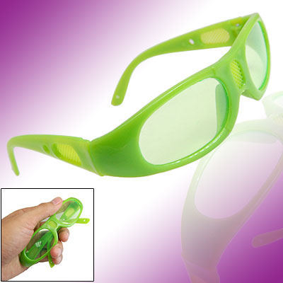 Green Kids Children's Eyewear Plastic Sports Sunglasses