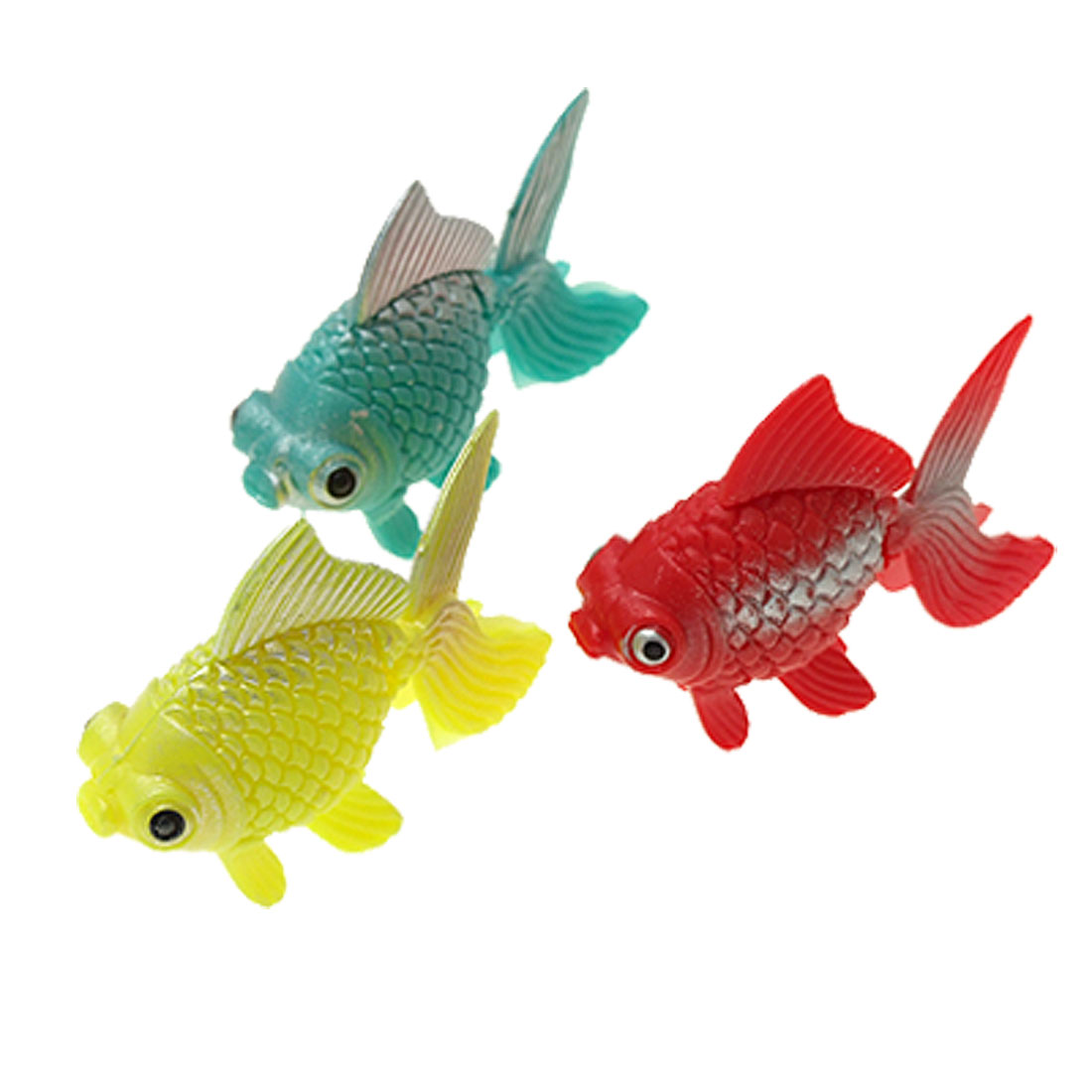 Lifelike Plastic Decorative Fish Ornament for Aquarium