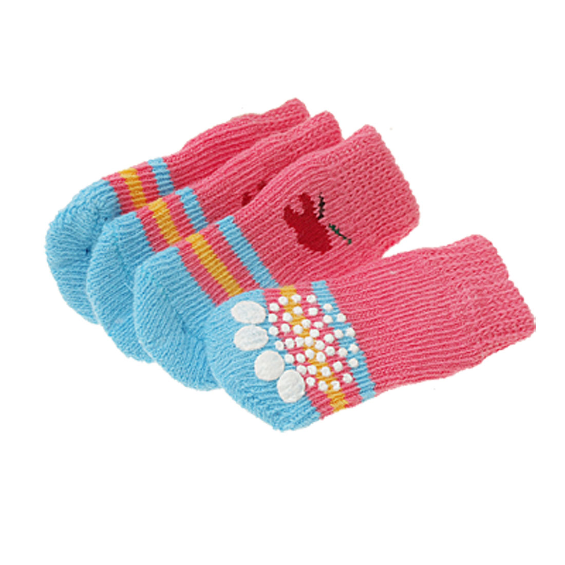 L6.5 x W3.5cm Puppy Dog Doggie's Winter Nonskid Socks