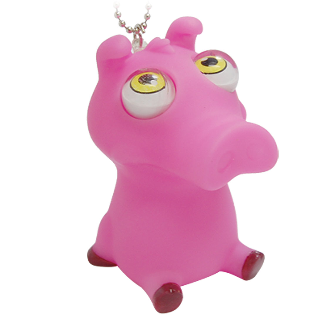 Pink Stress Reliever Pig Shaped Squeeze Toy Gift