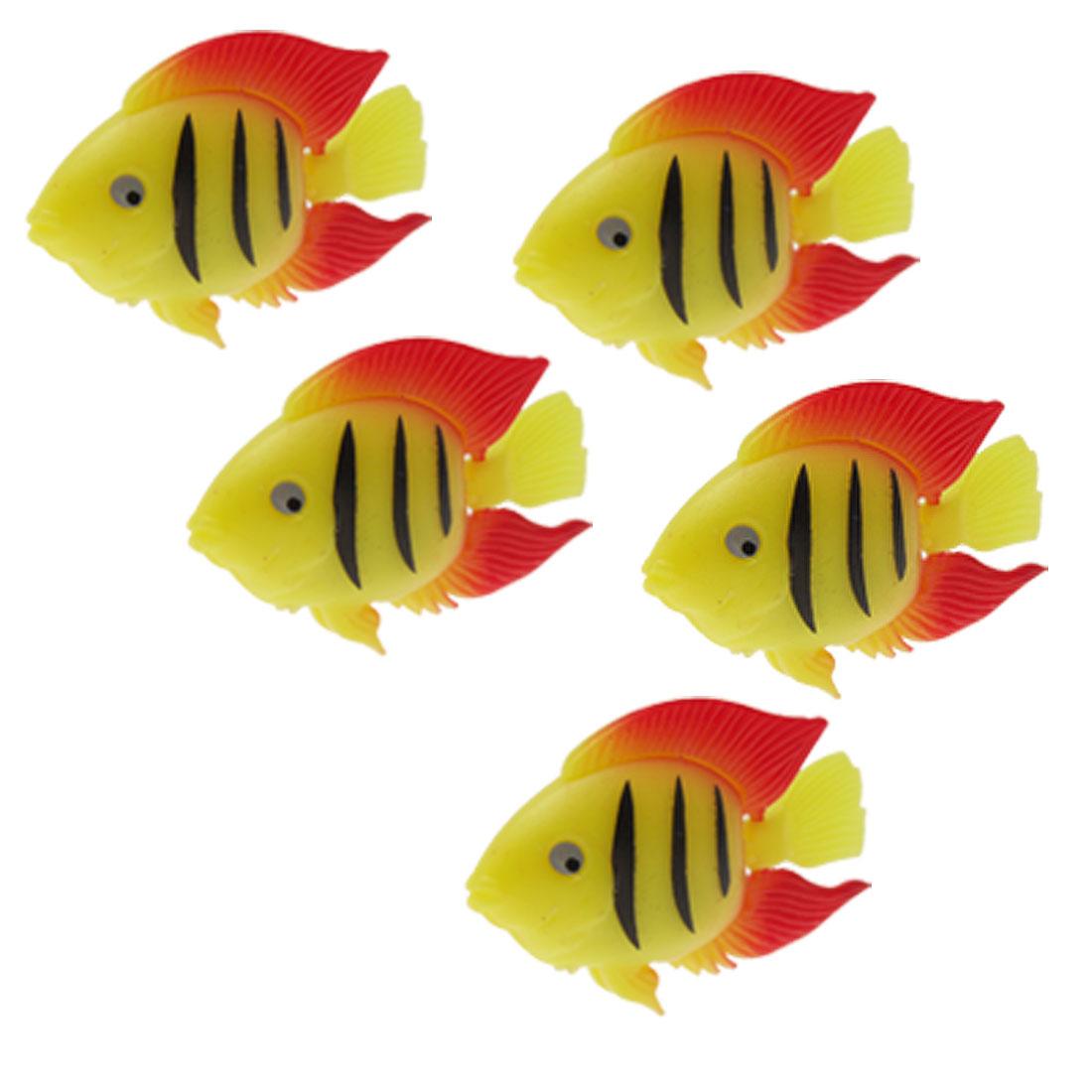 Hard Plastic Aquarium Fish Water Tank Decor Ornament