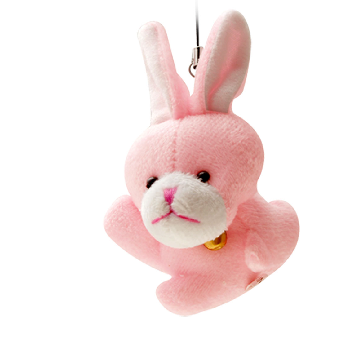 Pink Plush Rabbit MP3 PDA Mobile Cell Phone Charm Strap