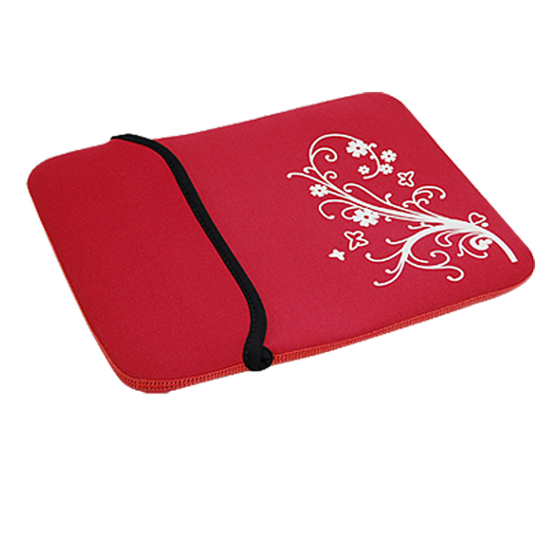 "10"" 10.1"" 10.2"" Red Neoprene Flower Tablet PC Laptop Sleeve Bag Case for iPad"