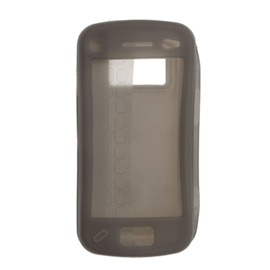 Gray Silicone Skin Shell Case Cover for Nokia N97