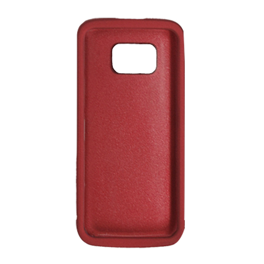 Rubberized Hard Plastic Case Cover Red for Nokia 5530
