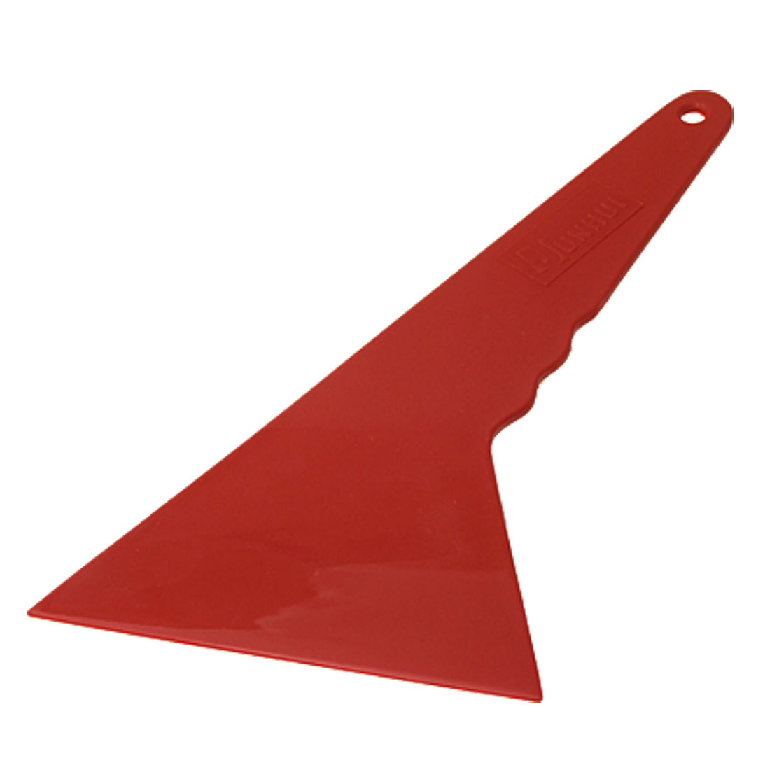 Red Plastic Car Window Flim Tint Bubble Cleaner Scraper Tool