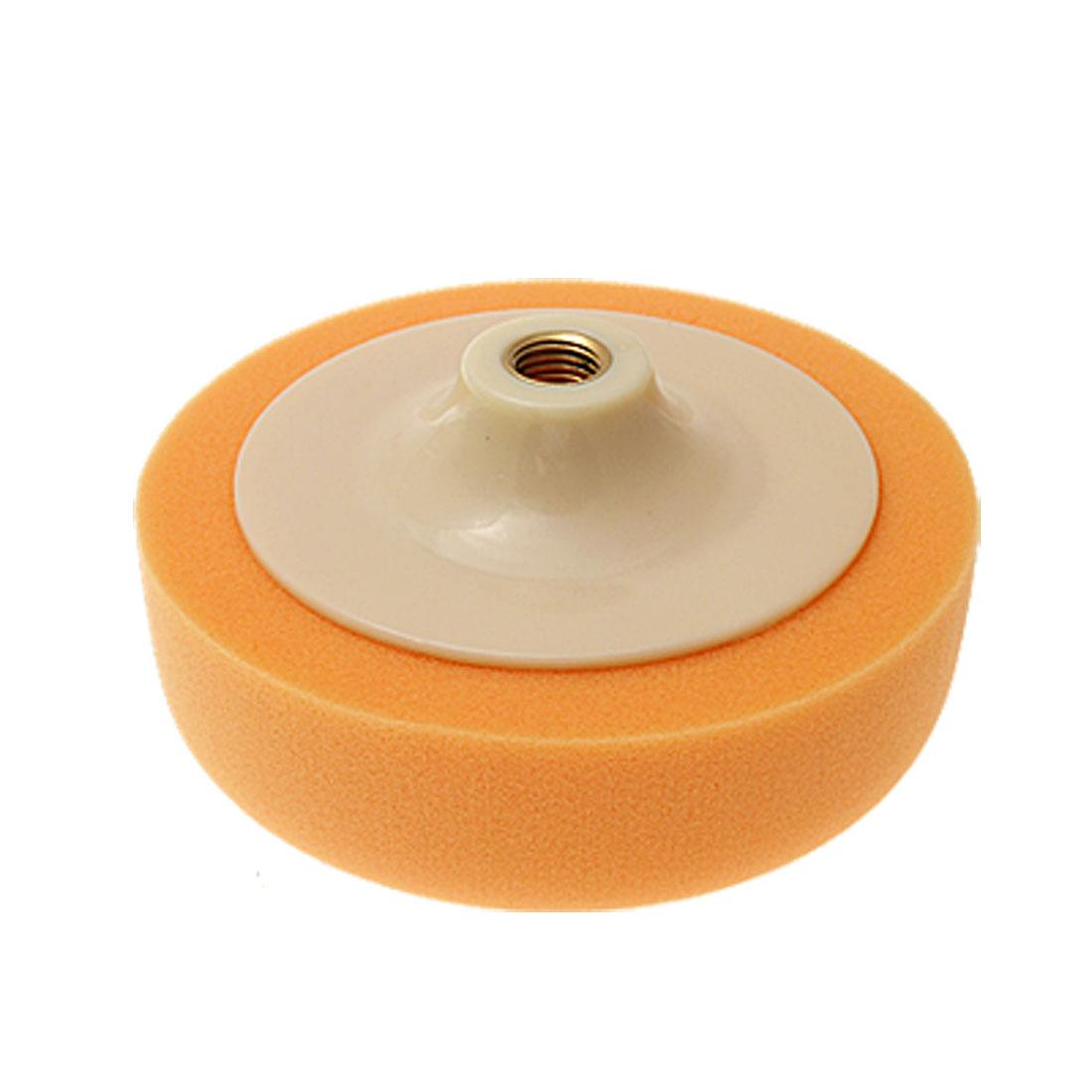 """Orange Buffing Felt Polishing Machine Round Wheel 6"""""""
