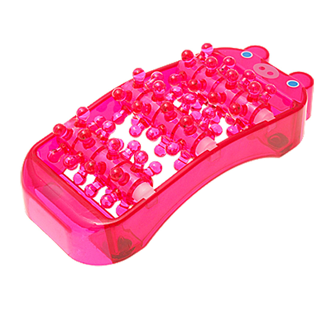 Plastic Foot Roller Release Relax Massager Red