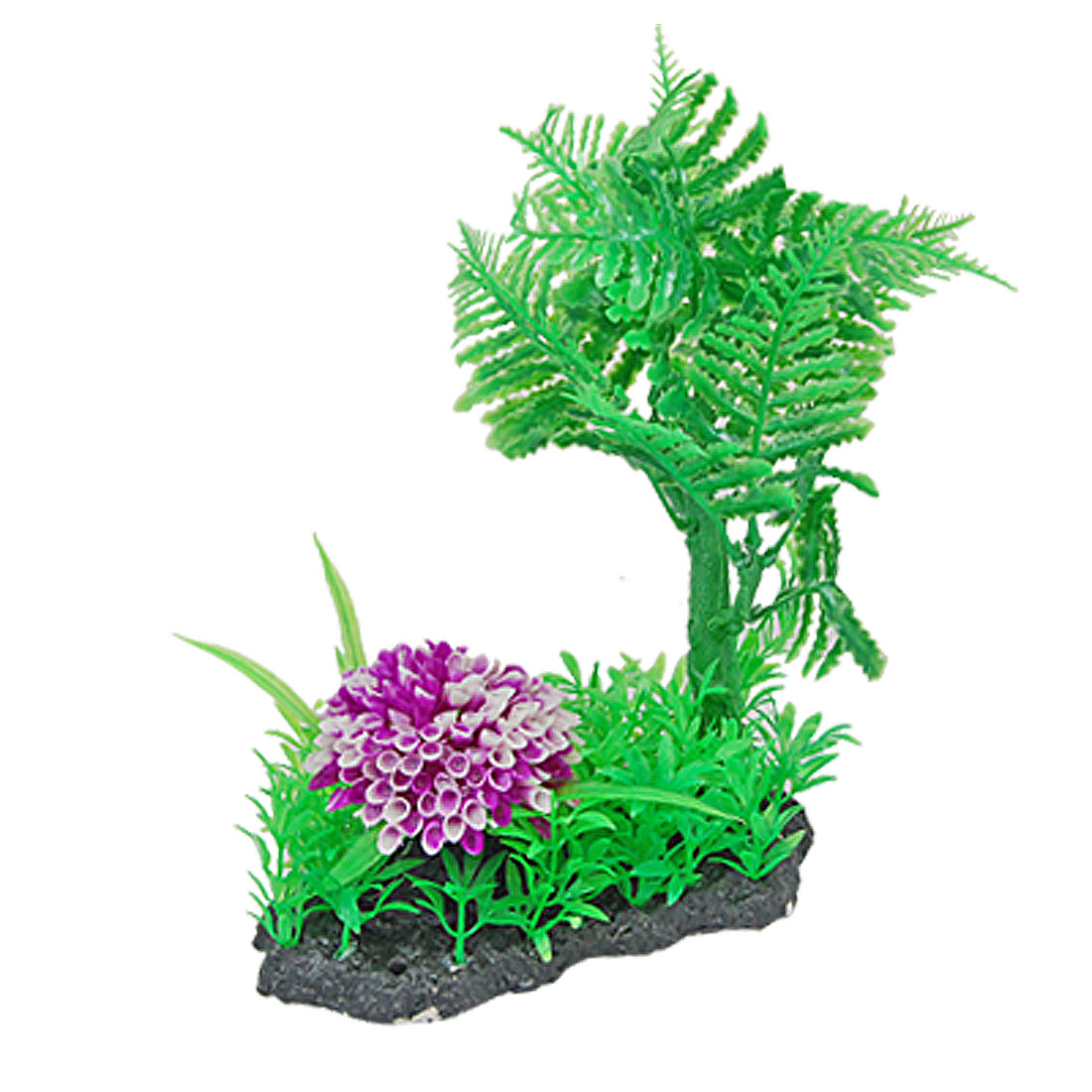 Beautiful Plastic Fish Tank Flowers Plant Aquarium Decor