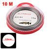 10M Braided Metal Fish Fishing Line 90lb 0.8mm
