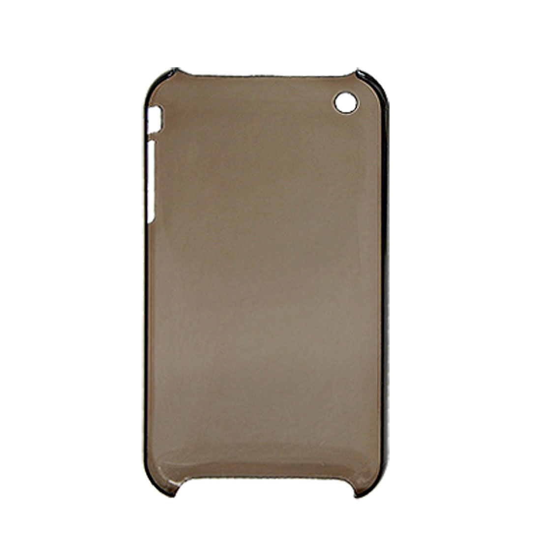 Clear Grey Plastic Case Back Cover Shell for Apple iPhone 3G