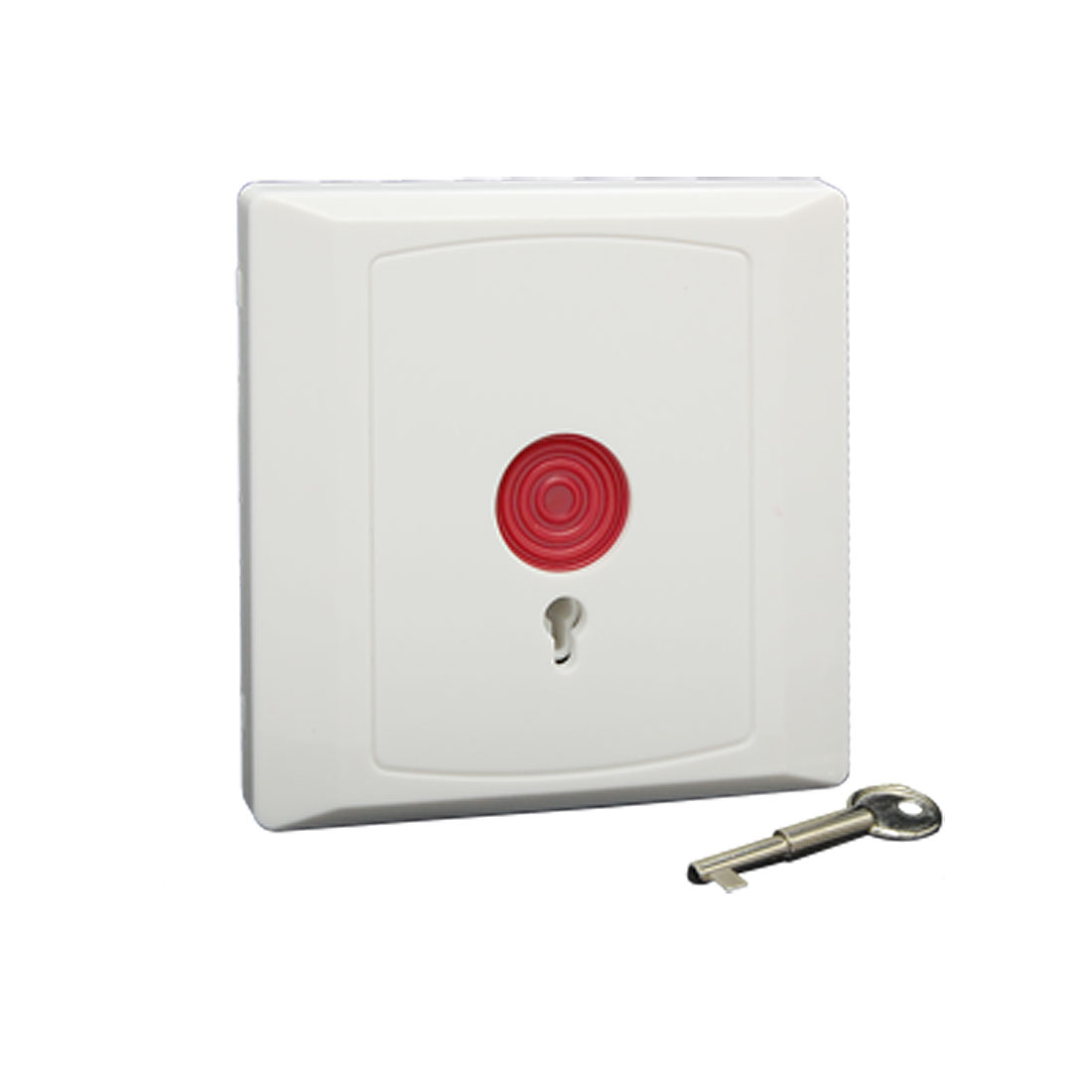 Square Family Office Emergency Panic Button White