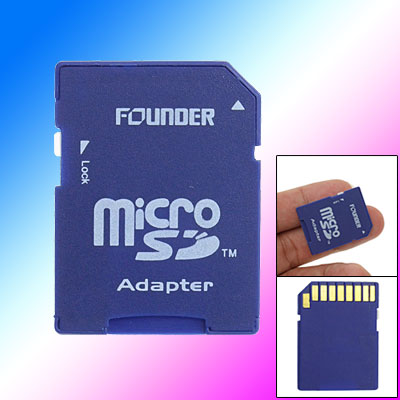 SD to Micro SD Memory Card Adapter for Cellphone to PC