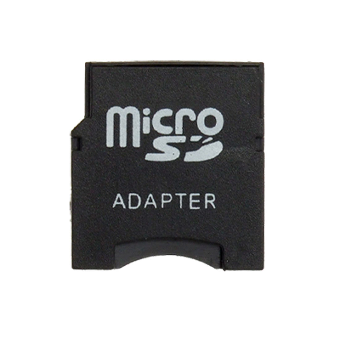 Black Micro SD to Mini SD Memory Card Adapter Converter