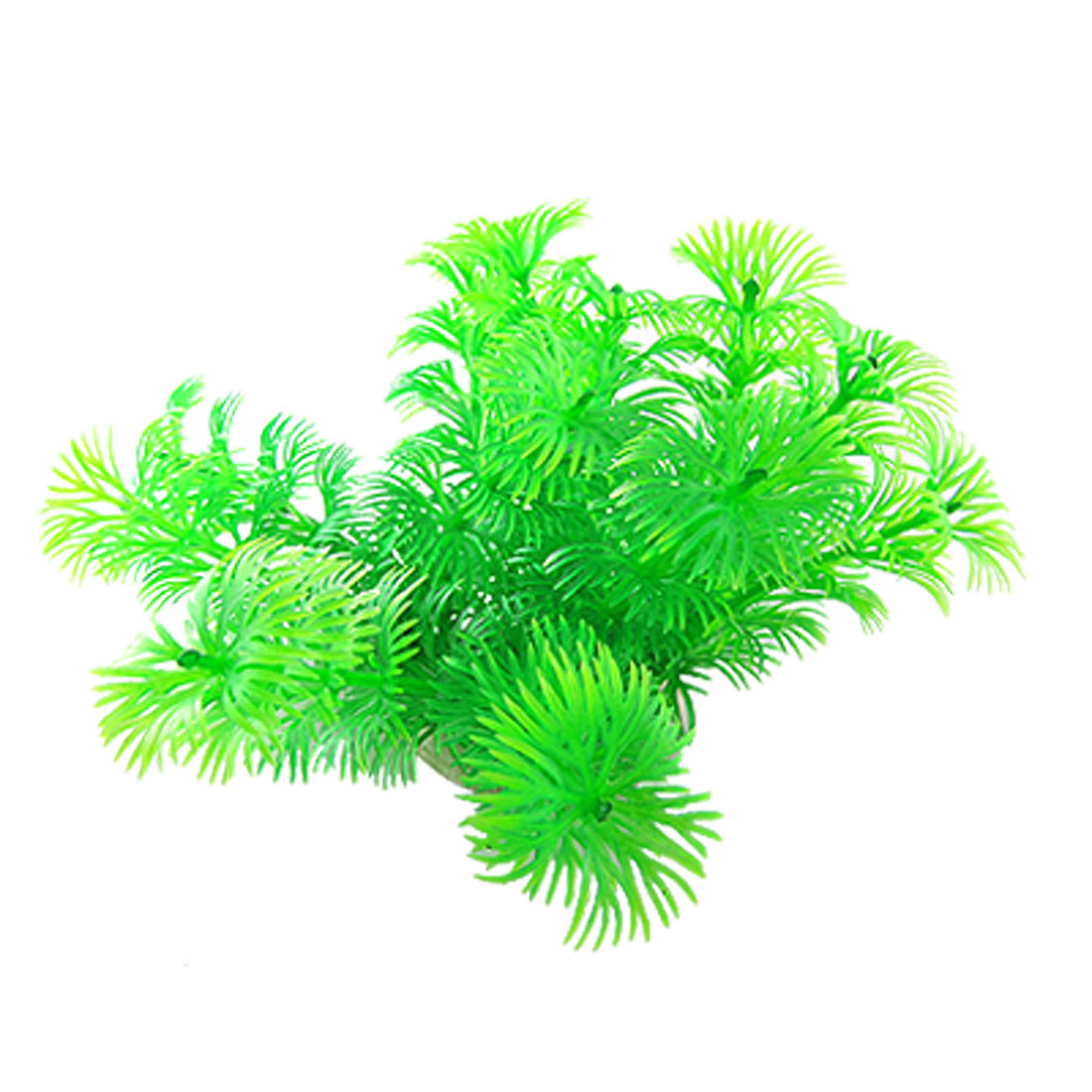 Hard Plastic Plant Aquarium Tank Ornament Grass