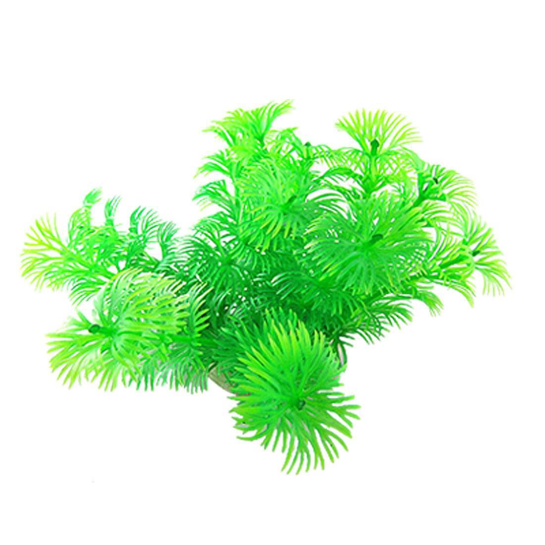 Hard Plastic Plant Aquarium Tank Ornament Grass