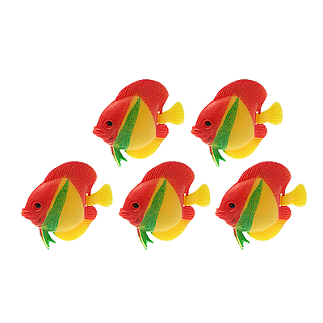 Real-Like Floating Plastic Fish Water Aquarium Ornament