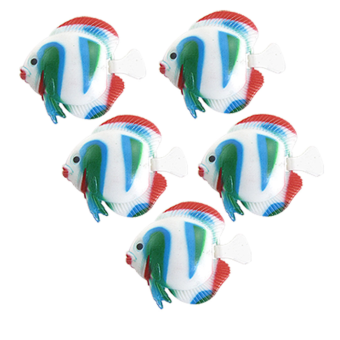 Colorful Plastic Floating Fish Aquarium Tank Ornament