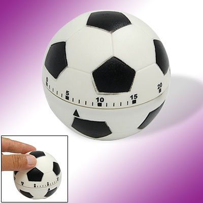 Football Shape 60 Minutes Wind-up Mechanical Kitchen Cooking Timer
