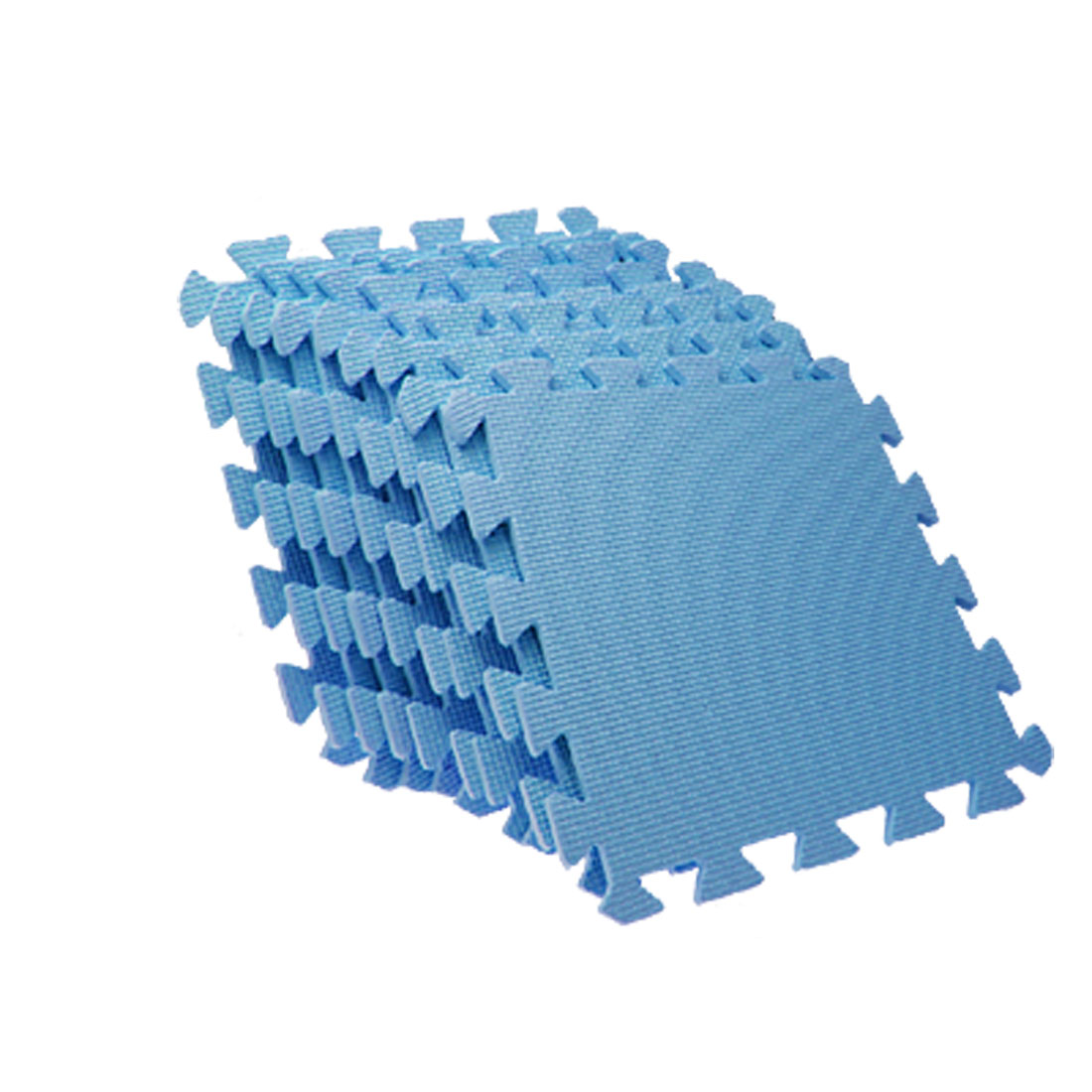 EVA Puzzle Foam Anti-Fatigue Blue Interlocking Floor Mats