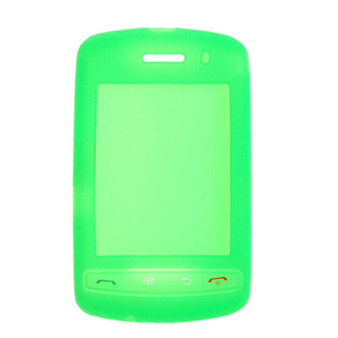 Green Silicone Case Nonslip Protective Skin for Blackberry 9500 9530