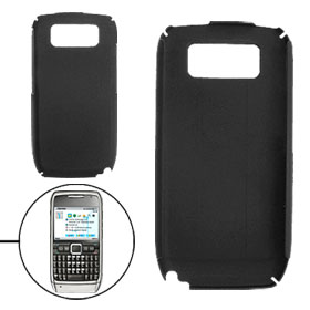 Black Hard Plastic Guard Case Cover for Nokia E71