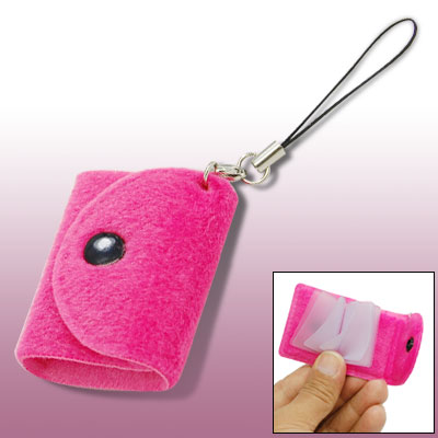 Plush Bag Digital Camera Mobile Cell Phone Charm Strap
