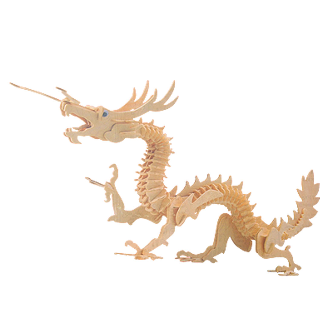 Dragon Model Woodcraft Construction Kit Puzzle Toy for DIY Lover