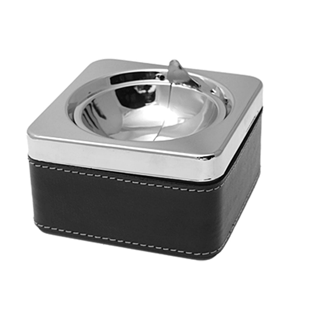 Square Metal Cigarette Cigar Ash Tray Ashtray