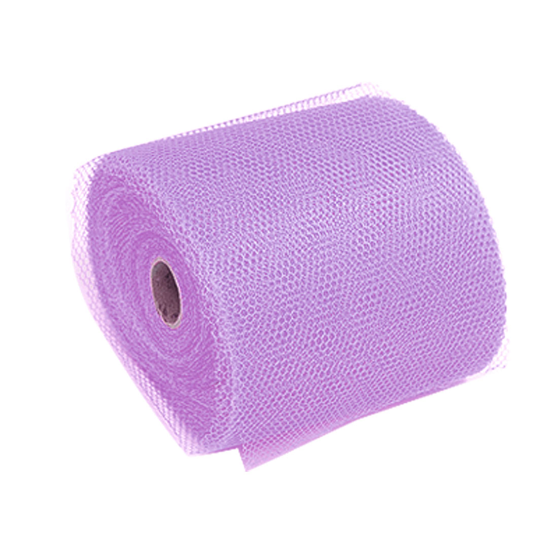 Lilac Flower Nylon Mesh Fabric Wrapper Wrap Wrapping Roll