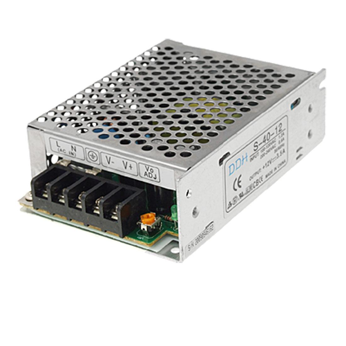 AC 110-220V DC 12V 3.5A 42w Switch Power Supply Transformer Driver for LED Strip Light