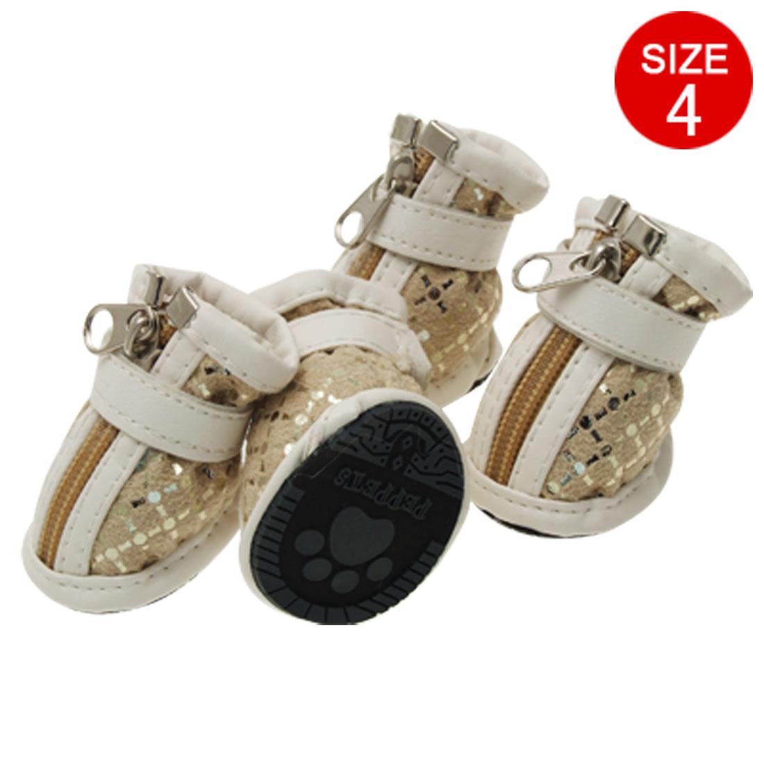 Pet Protective BootDog Shoes Size 4