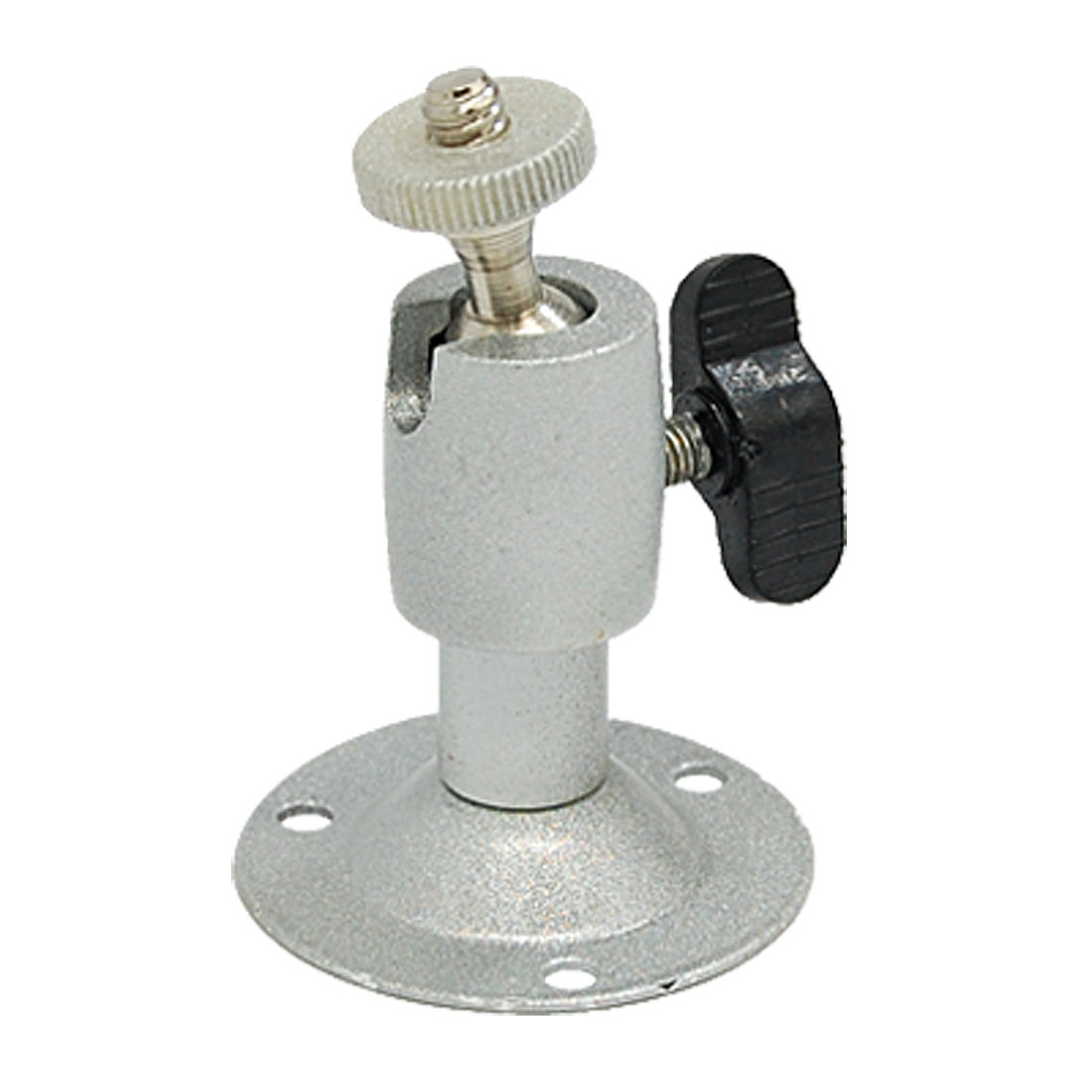 Mini Wall Mount Stand Bracket Silvery for CCTV Camera