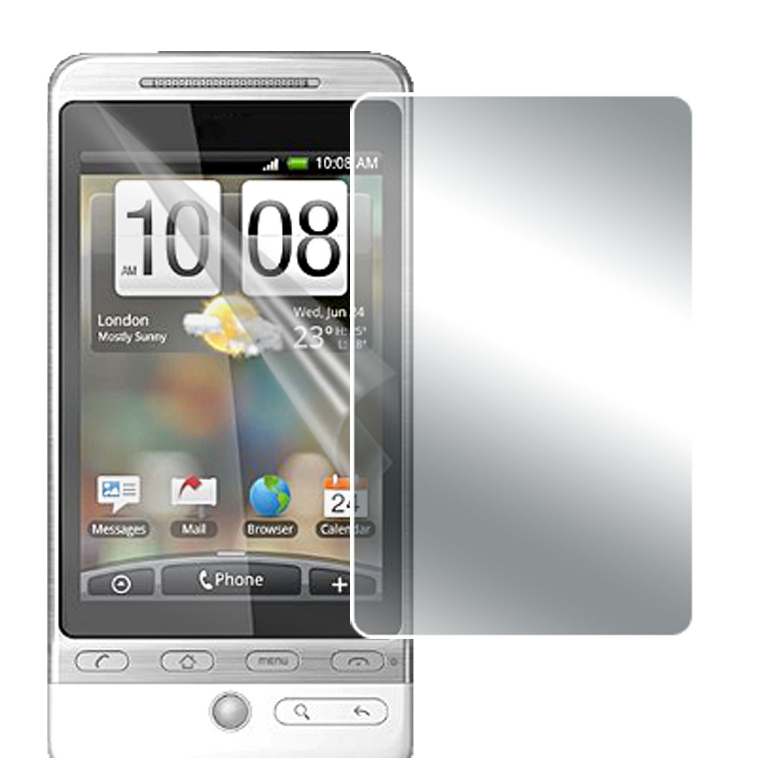 Anti-glare LCD Screen Guard Film Protector for HTC Hero