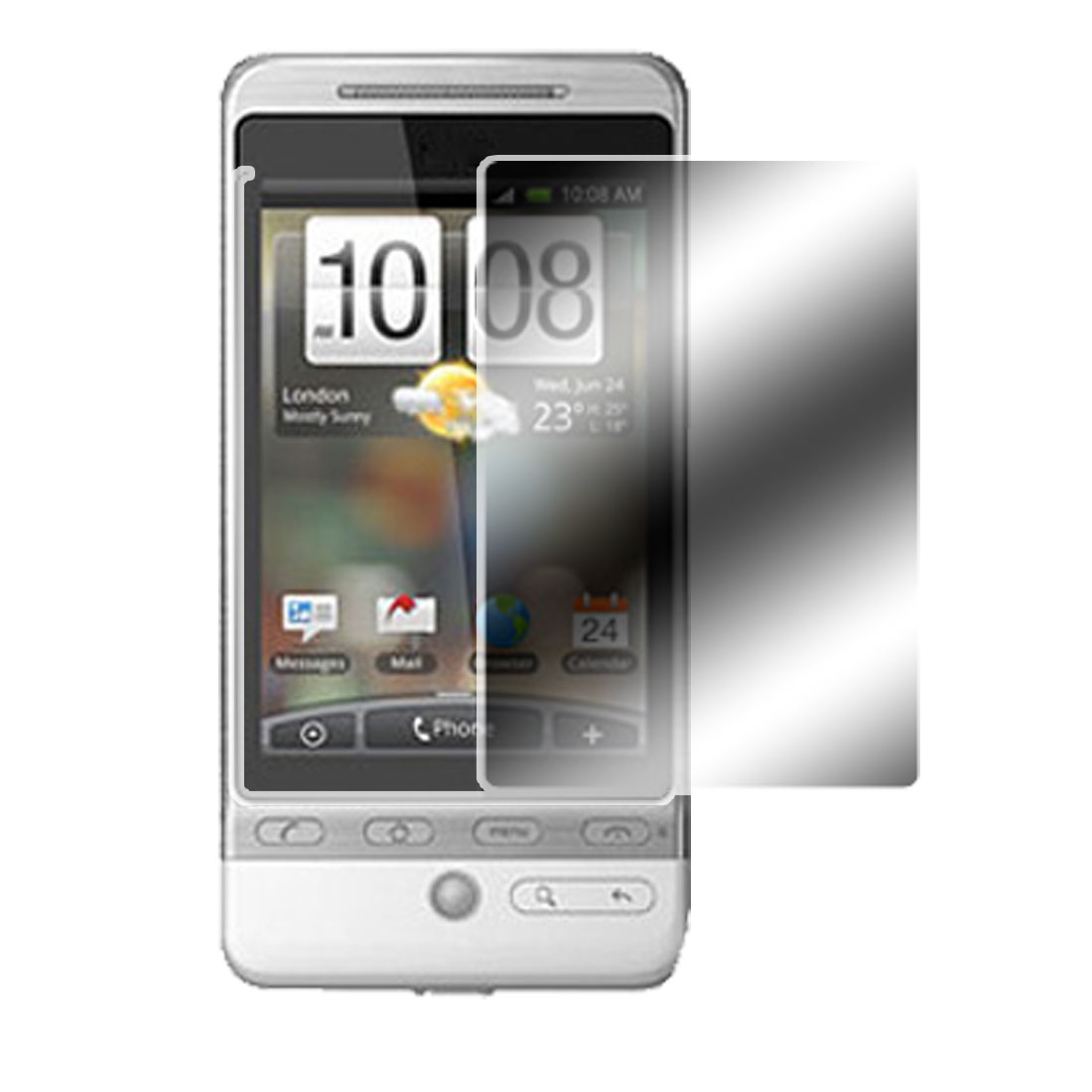 Mirror LCD Screen Guard Film Protector for HTC Hero