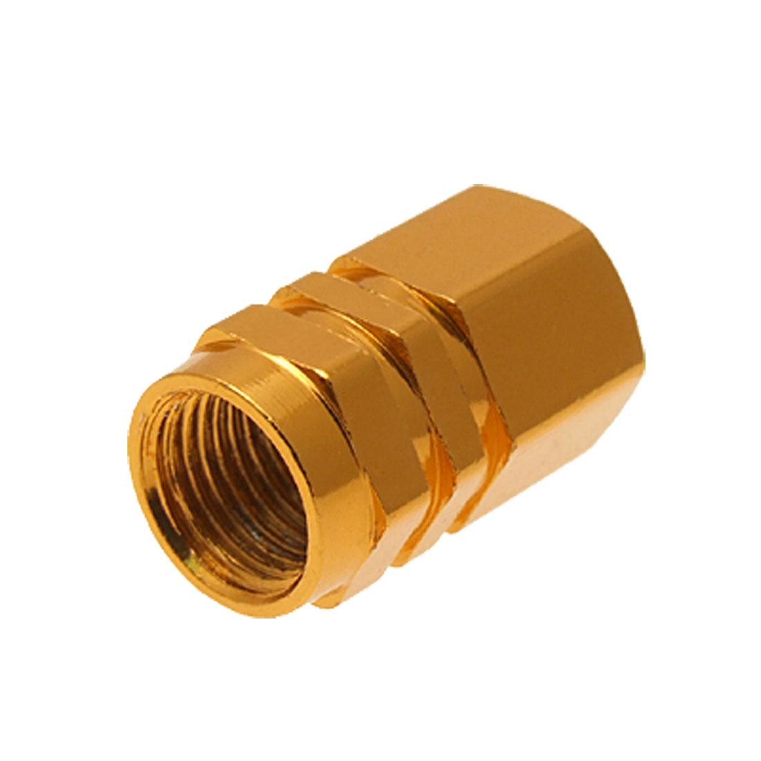 4pcs Tire Tyre Valves Stems Caps Covers Golden