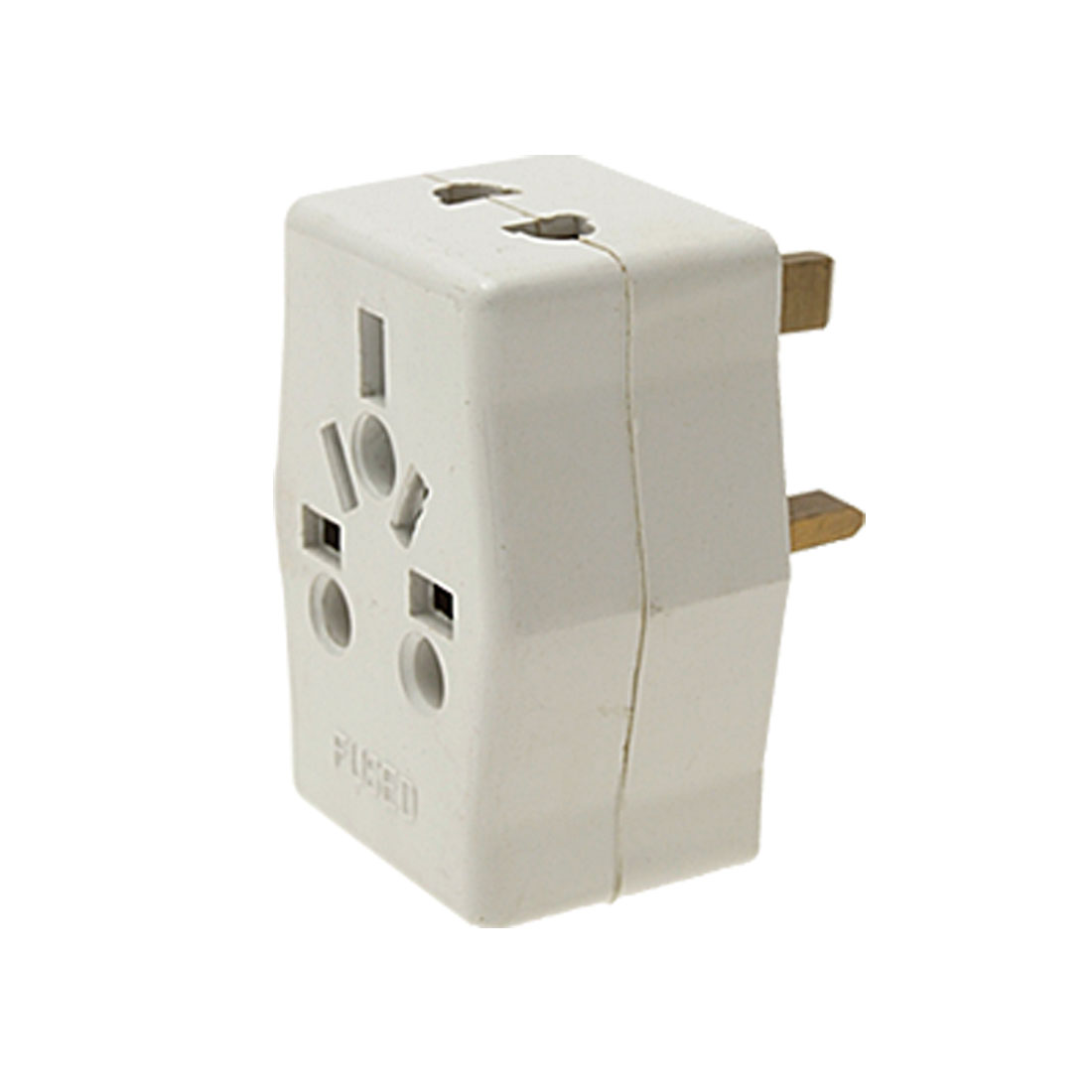 UK Plug Travel AC Power Plug Adapter with 4 Outlet 250V