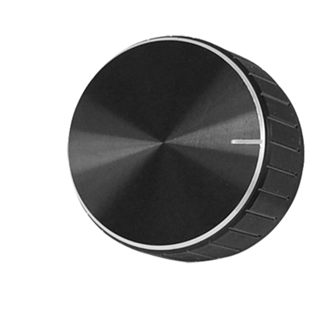 Black Aluminum Volume Control Amplifier Knob Wheel